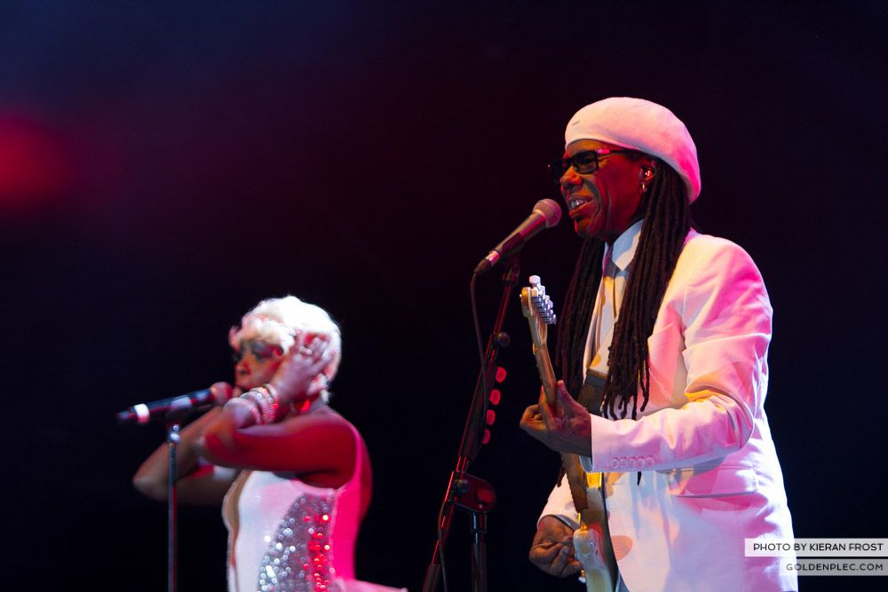 Chic at Electric Picnic by Kieran Frost