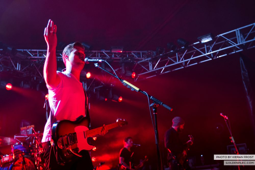 White Lies at Indiependence 2014 by Kieran Frost