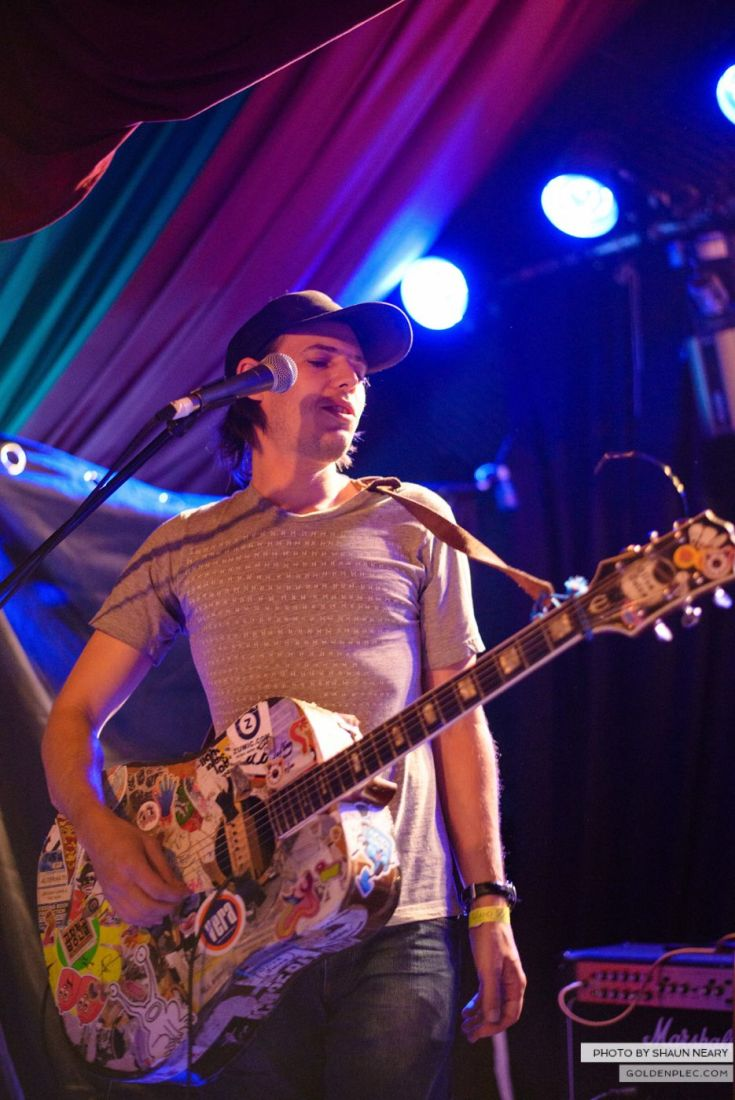Jeffrey Lewis and The Jrams – The Grand Social, Dublin on August 25th 2014 by Shaun Neary-02