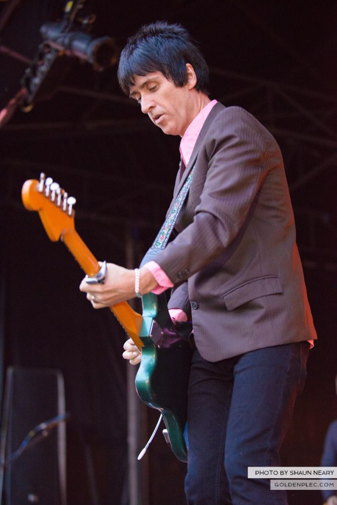 Johnny Marr at Leopardstown Racecourse, Dublin on August 7th 2014 by Shaun Neary-03