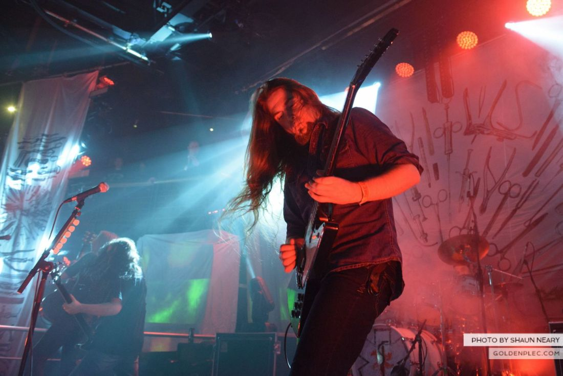 Carcass – The Academy, Dublin on September 20th 2014 by Shaun Neary-05