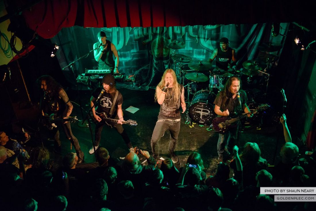 Dragonforce – Whelan's, Dublin on September 21st 2014 by Shaun Neary-23