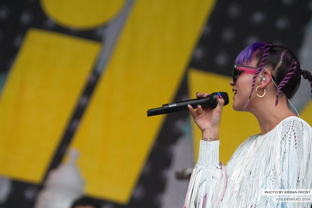Lily Allen at Electric Picnic by Kieran Frost