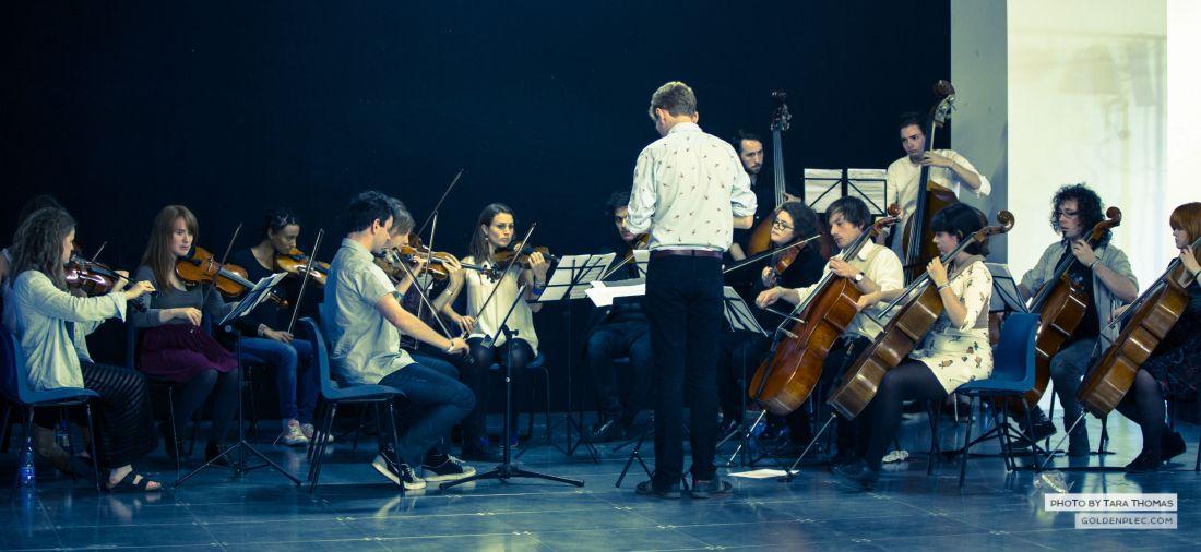 Teada Orchestra at Ensemble Music Launch Dublin