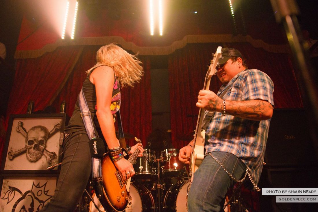 Black Stone Cherry at The Academy, Dublin on October 23rd 2014 by Shaun Neary-11