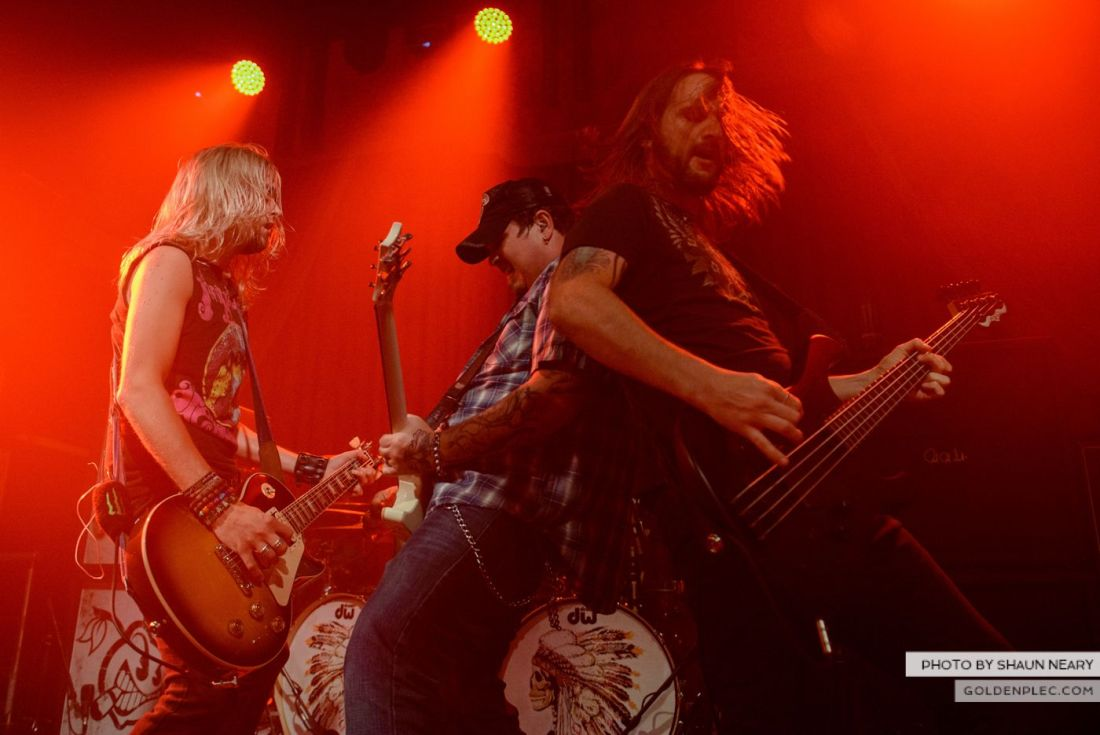 Black Stone Cherry at The Academy, Dublin on October 23rd 2014 by Shaun Neary-17
