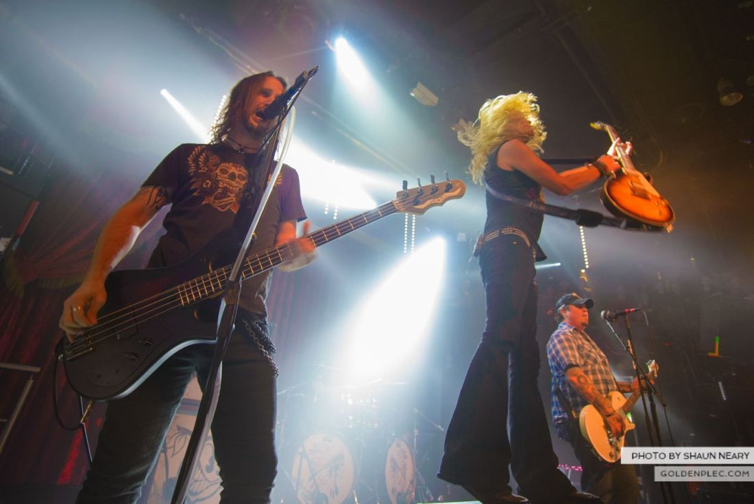 Black Stone Cherry at The Academy, Dublin on October 23rd 2014 by Shaun Neary-19