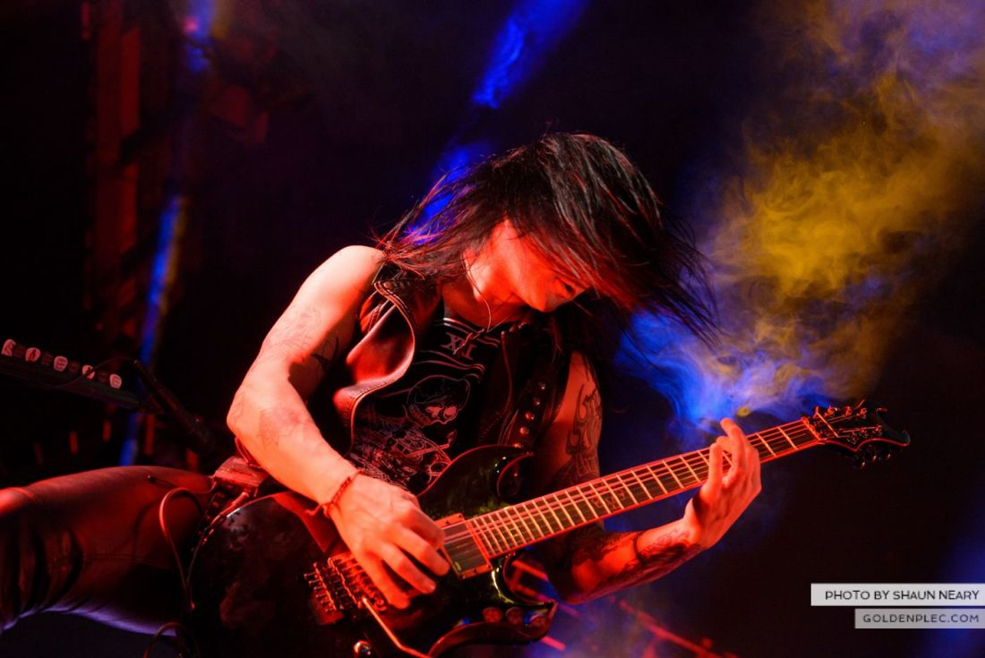 Black Veil Brides at The Olympia Theatre, Dublin on October 15th 2014 by Shaun Neary-05
