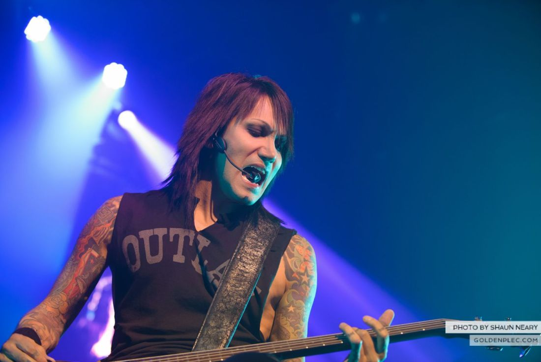 Black Veil Brides at The Olympia Theatre, Dublin on October 15th 2014 by Shaun Neary-16