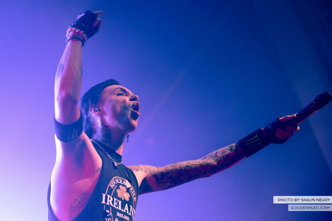 Black Veil Brides at The Olympia Theatre, Dublin on October 15th 2014 by Shaun Neary-17