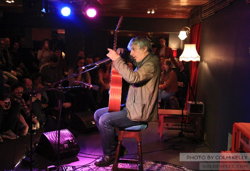Lee Ranaldo at Bello Bar by Colm Kelly