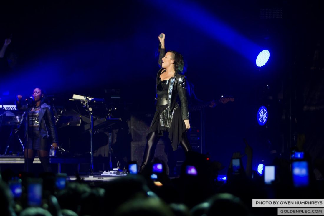 Demi Lovato at The 3Arena by Owen Humphreys (10 of 12)