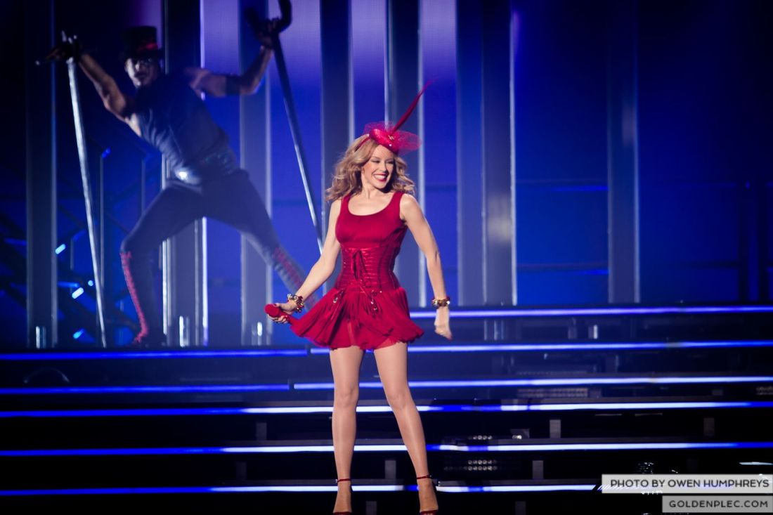 Kylie Minogue at the Three Arena by Owen Humphreys (11 of 15)