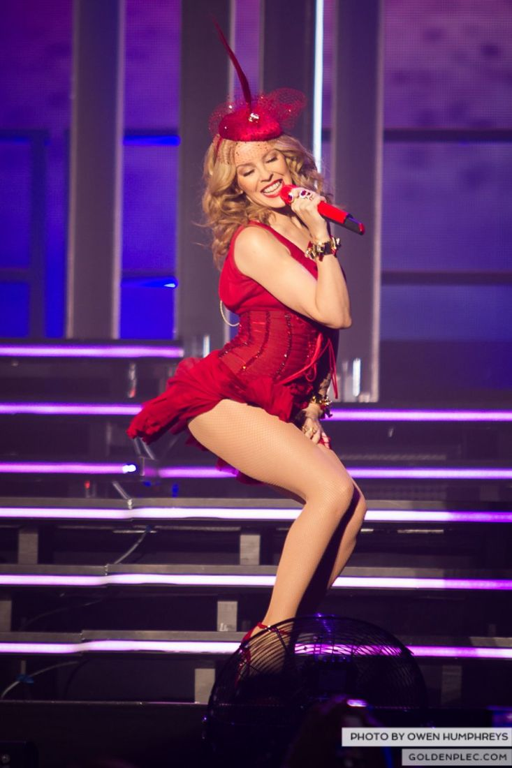 Kylie Minogue at the Three Arena by Owen Humphreys (6 of 15)