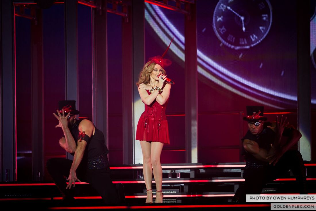 Kylie Minogue at the Three Arena by Owen Humphreys (9 of 15)