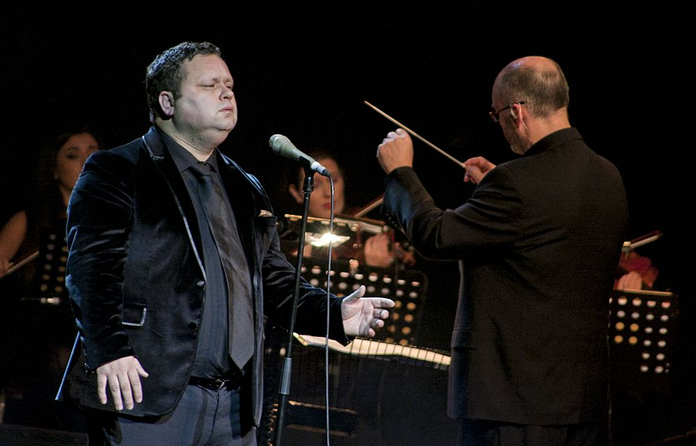 Paul Potts at The Olympia by Abraham Tarrush (12)