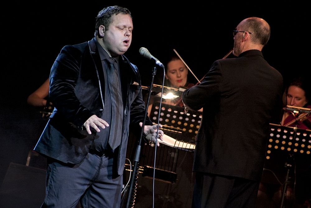 Paul Potts at The Olympia by Abraham Tarrush (2)