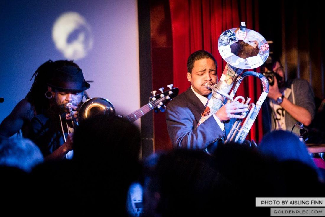Hypnotic Brass Ensemble at The Sugar Club by Aisling Finn (15)