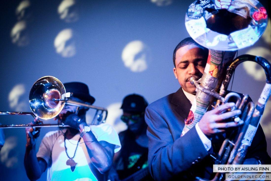 Hypnotic Brass Ensemble at The Sugar Club by Aisling Finn (22)