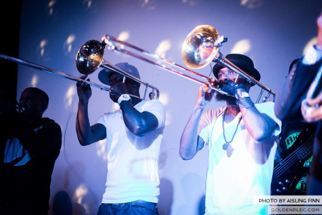 Hypnotic Brass Ensemble at The Sugar Club by Aisling Finn (23)