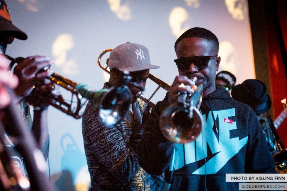 Hypnotic Brass Ensemble at The Sugar Club by Aisling Finn (8)