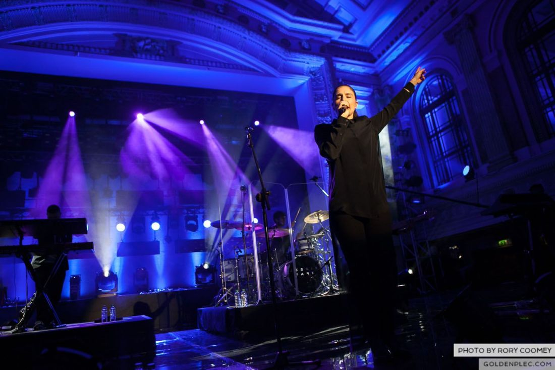 Jessie Ware at MTV Crashes Cork City Hall by Rory Coomey