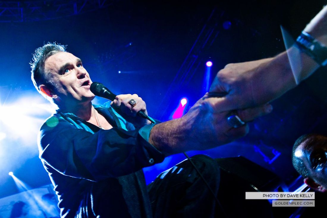 Morrissey at The 3 Arena, Dublin, 1 December 2014 (22 of 52)