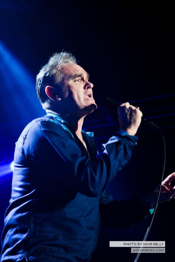 Morrissey at The 3 Arena, Dublin, 1 December 2014 (29 of 52)