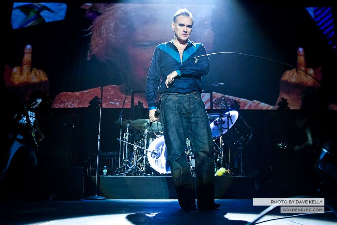 Morrissey at The 3 Arena, Dublin, 1 December 2014 (4 of 52)