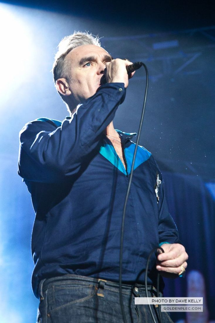 Morrissey at The 3 Arena, Dublin, 1 December 2014 (9 of 52)