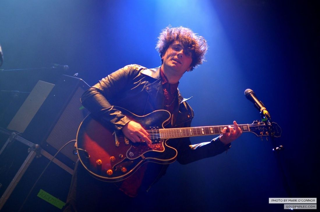 The Academic at Vicar Street by Mark O' Connor