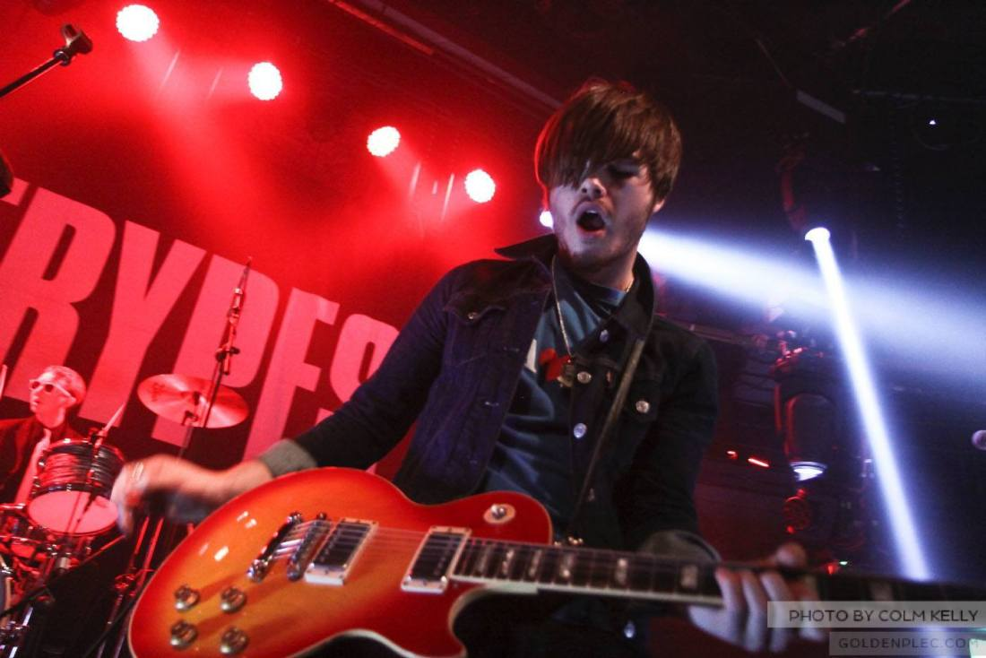 The Strypes at The Academy Dublin by Colm Kelly