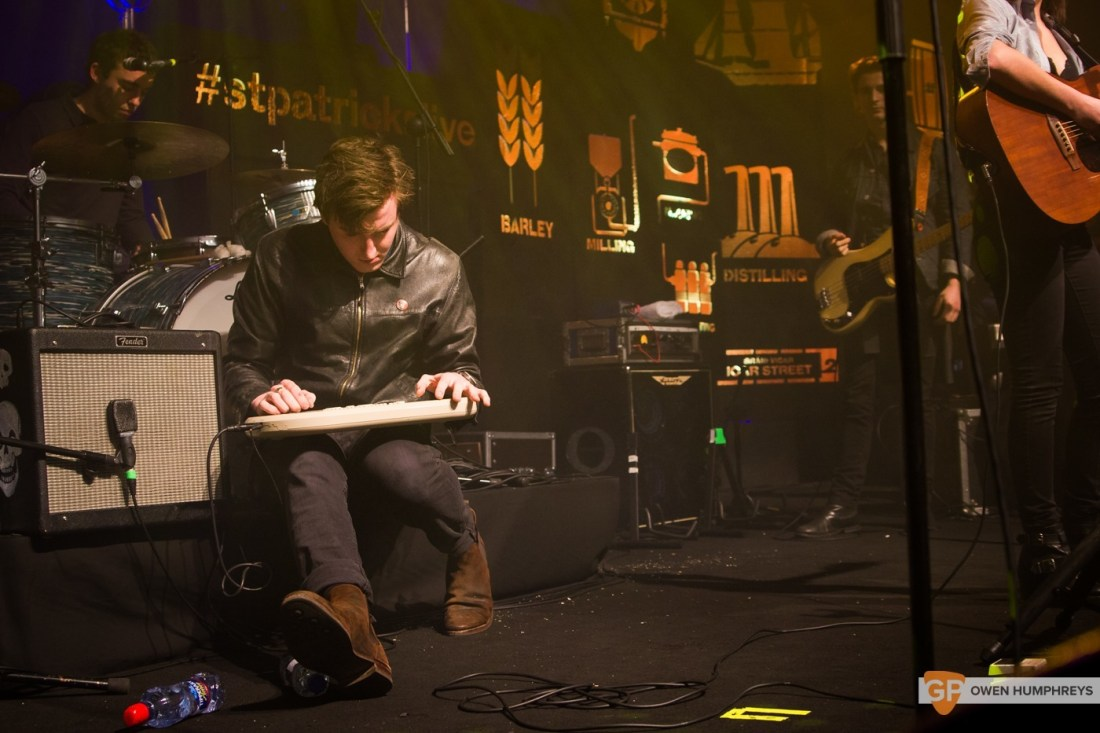 Little Green Cars at Jameson St. Patrick's Day Live at Vicar Street by Owen Humphreys (1 of 14)