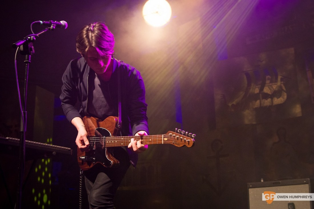 Little Green Cars at Jameson St. Patrick's Day Live at Vicar Street by Owen Humphreys (12 of 14)