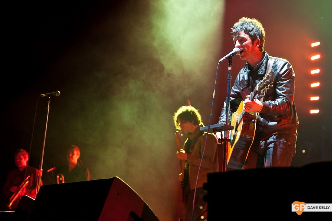 Noel Gallagher's High Flying Birds at the 3 Arena