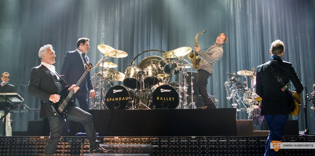 Spandau Ballet at The 3Arena by Owen Humphreys (8 of 13)