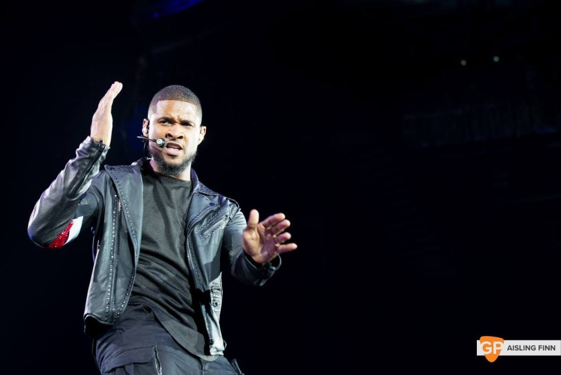 USHER at THE 3 ARENA by AISLING FINN (5)