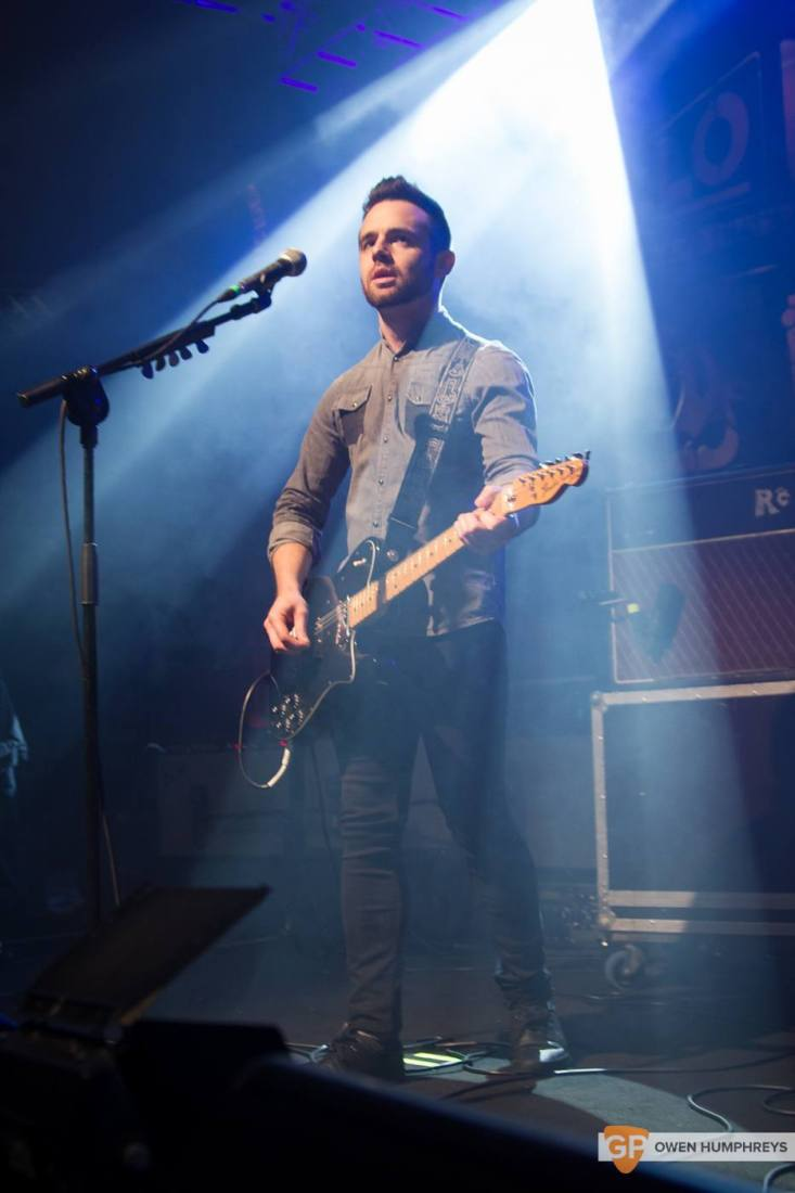 We Cut Corners at Jameson St. Patrick's Day Live at Vicar Street by Owen Humphreys (4 of 7)