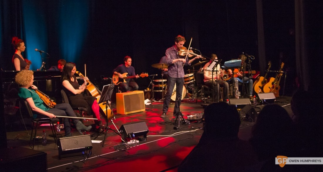 Colm Mac Con Iomaire at The Pavilion Theatre by Owen Humphreys (11 of 12)