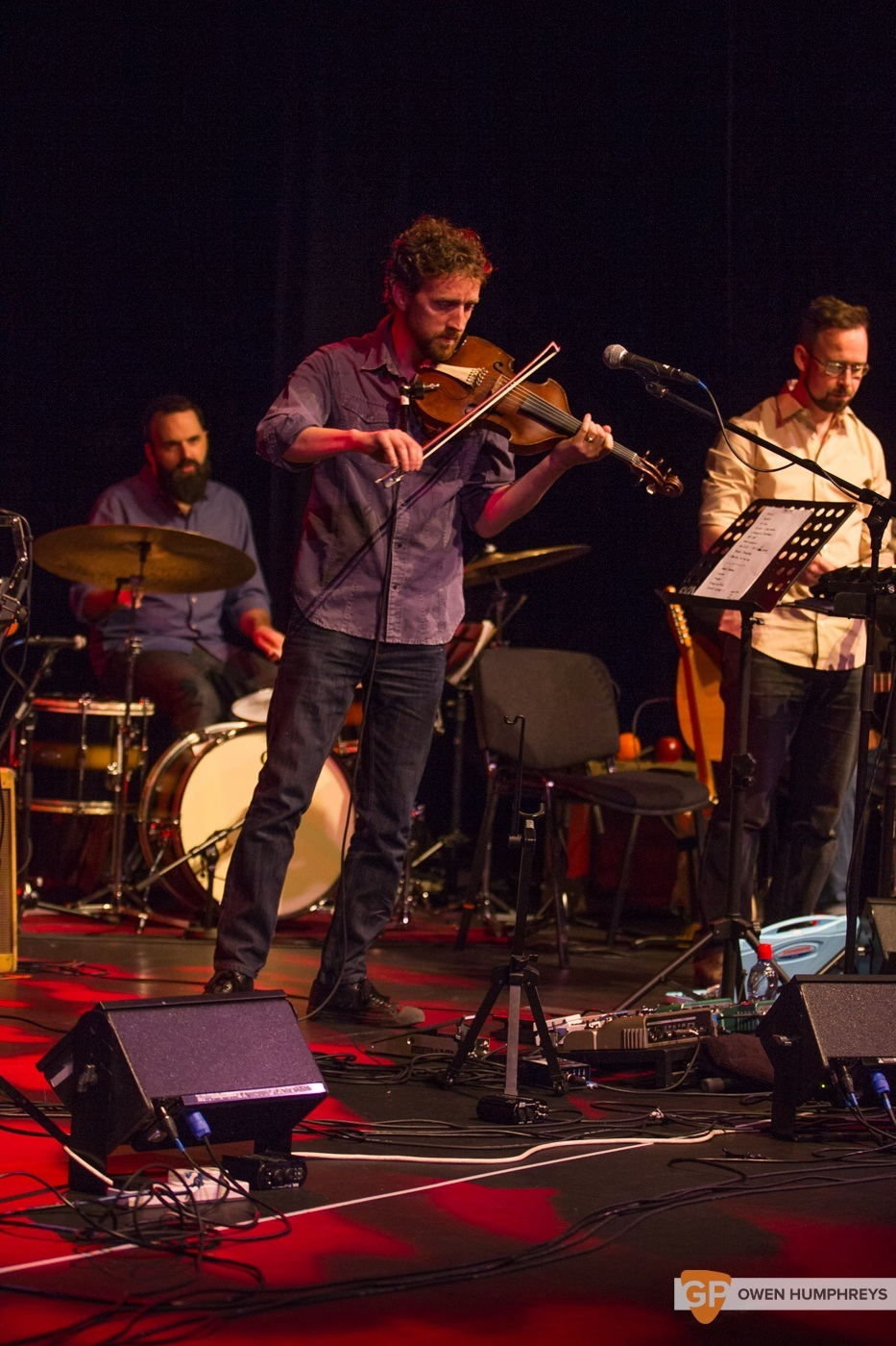 Colm Mac Con Iomaire at The Pavilion Theatre by Owen Humphreys (7 of 12)