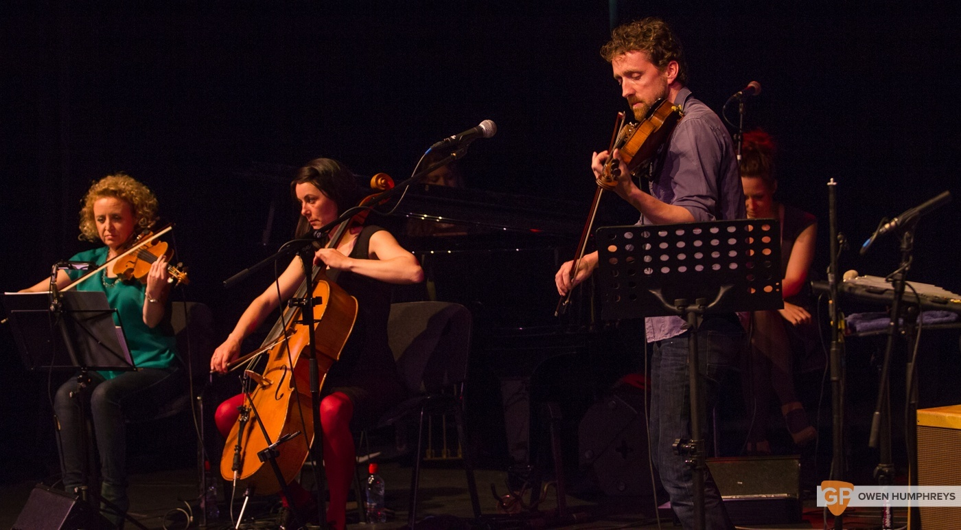 Colm Mac Con Iomaire at The Pavilion Theatre by Owen Humphreys (8 of 12)