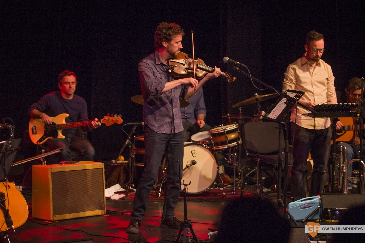 Colm Mac Con Iomaire at The Pavilion Theatre by Owen Humphreys (9 of 12)