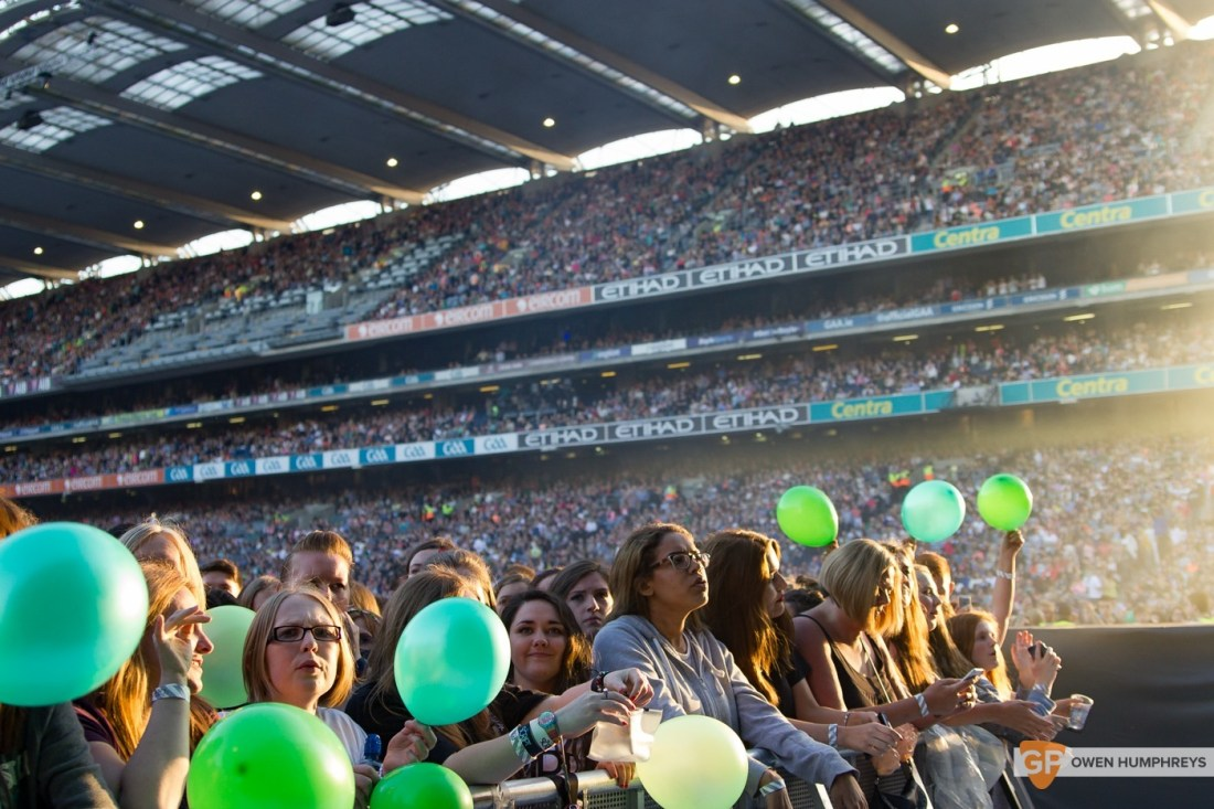 Crowd at Croke Park by Owen Humphreys (2 of 3)
