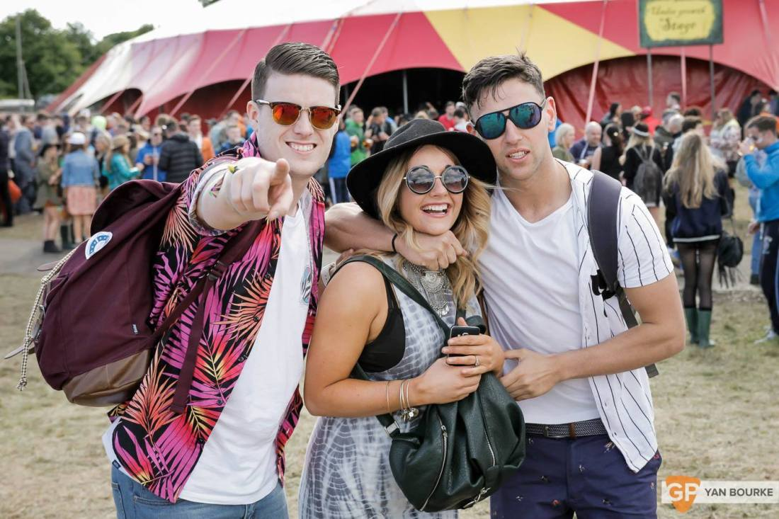 People at Forbidden Fruit 2015 by Yan Bourke