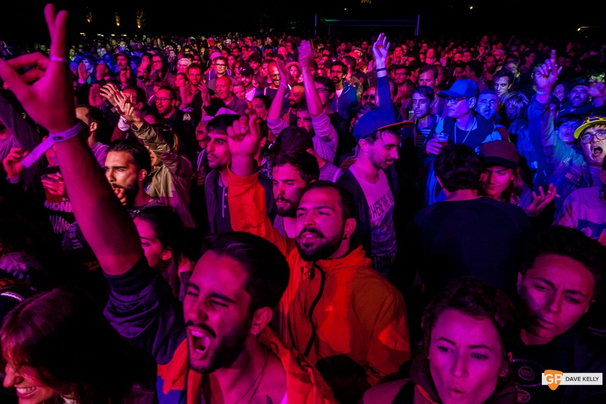 The crowd at The Juan MacLean at NOS Primavera Sound, Porto by David Kelly