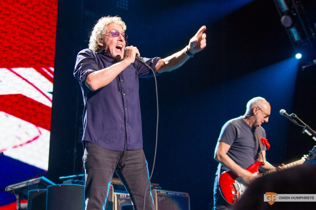 The Who at The 3Arena by Owen Humphreys (4 of 11)