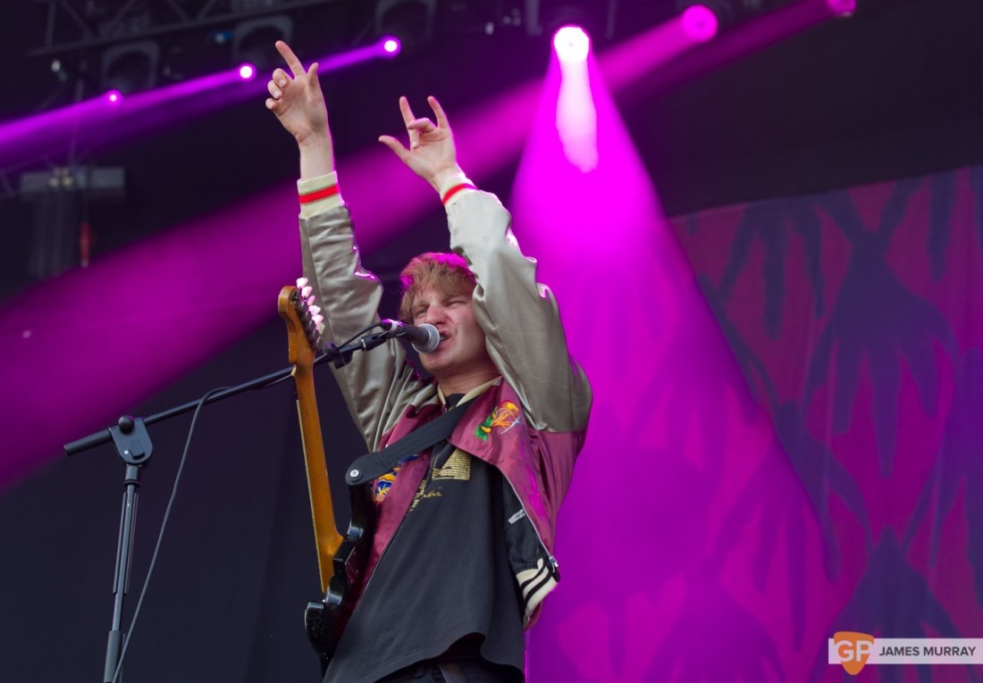 Glass Animals at Longitude (Saturday) by James Murray