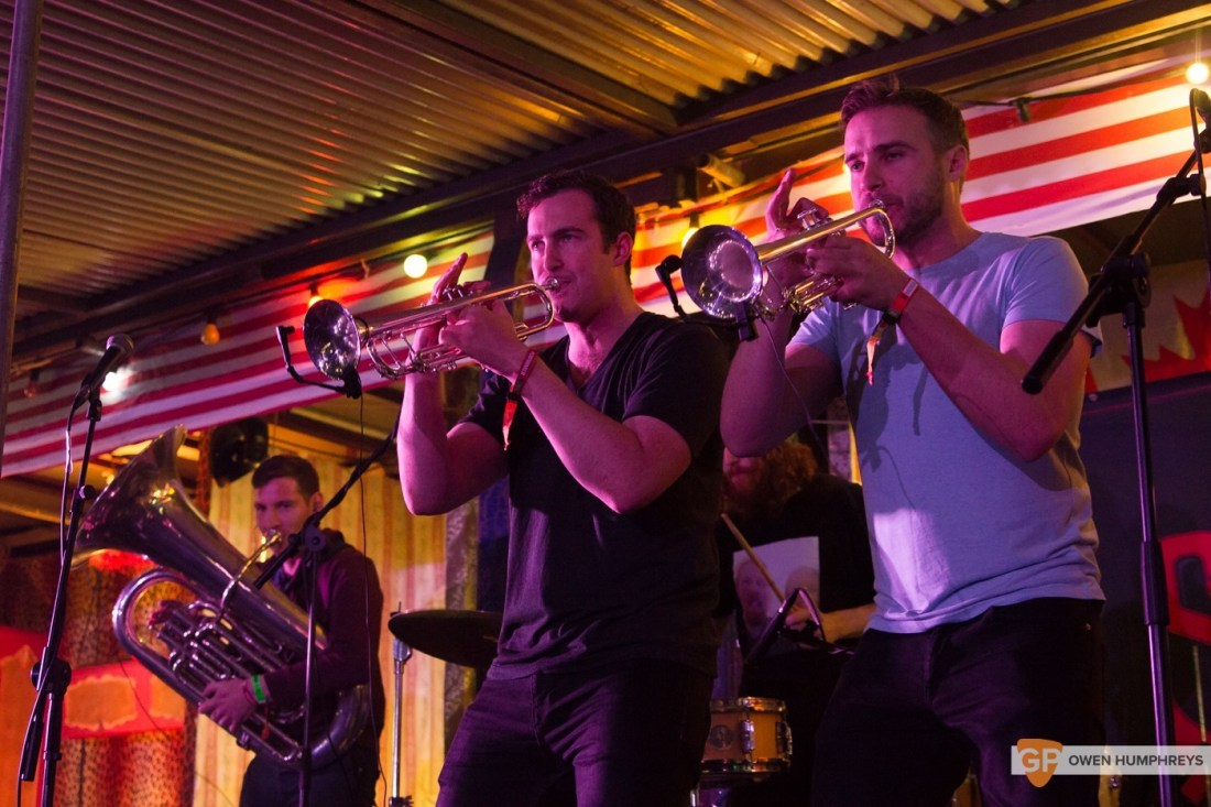 Stomptown Brass at Electric Picnic 2015 by Owen Humphreys (2 of 5)