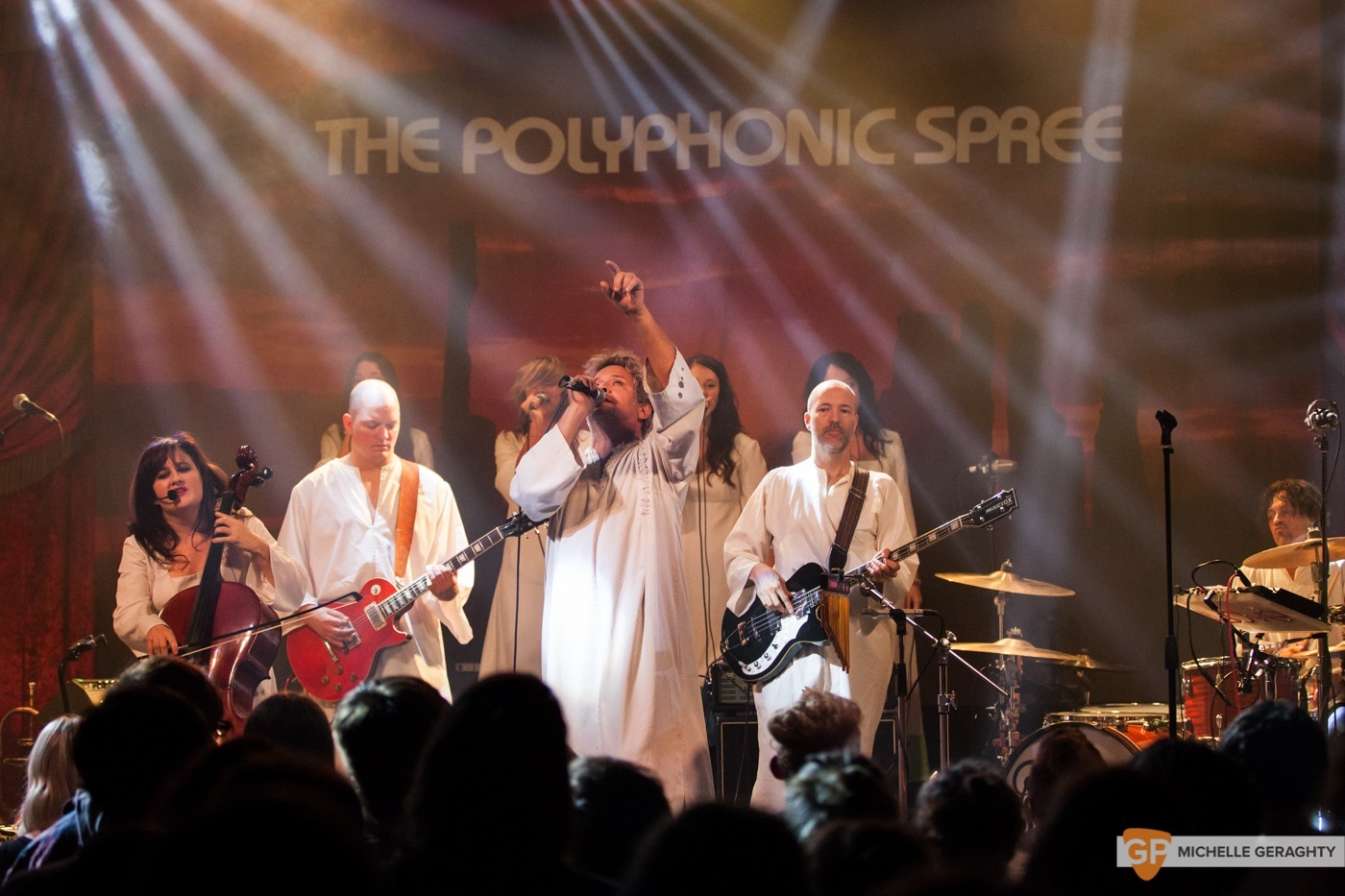 The Polyphonic Spree at the Academy by Michelle Geraghty-0976