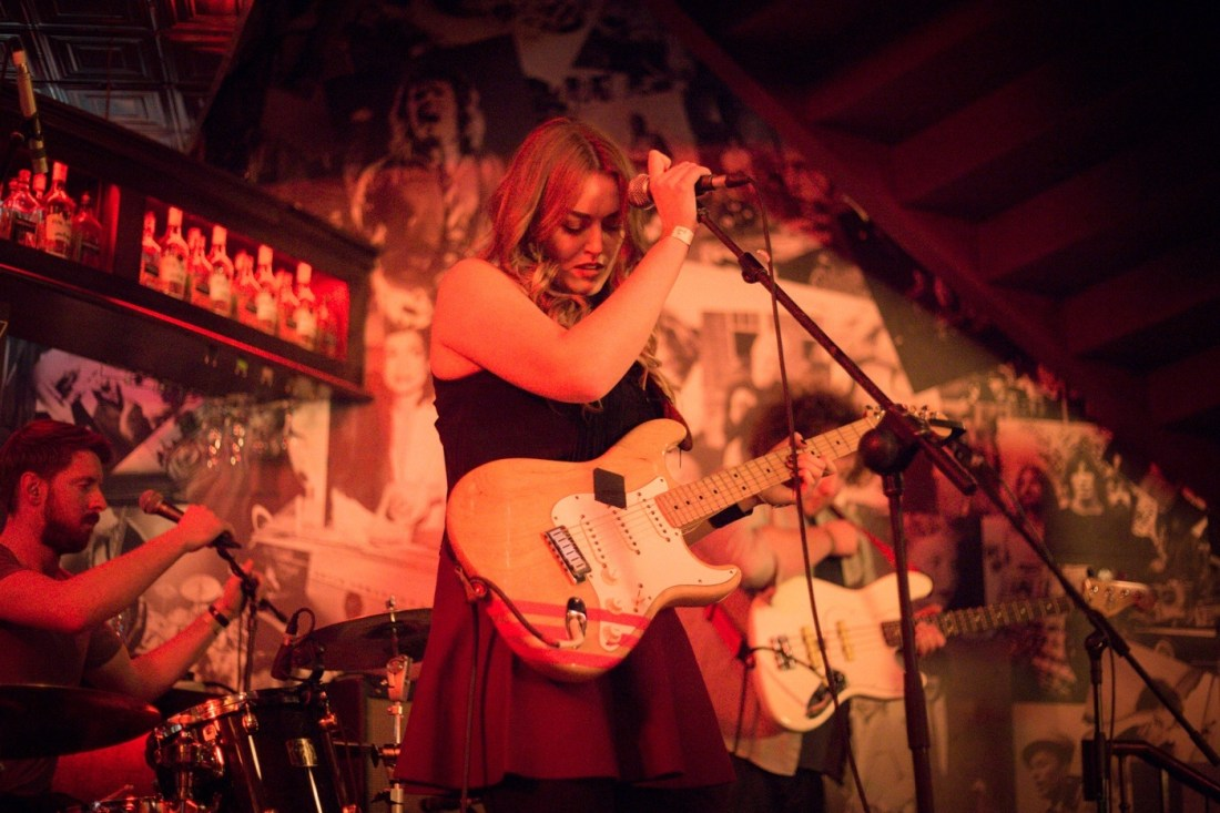 Roisin O live at Hard Working Class Heroes 2015, photo by Owen Humphreys